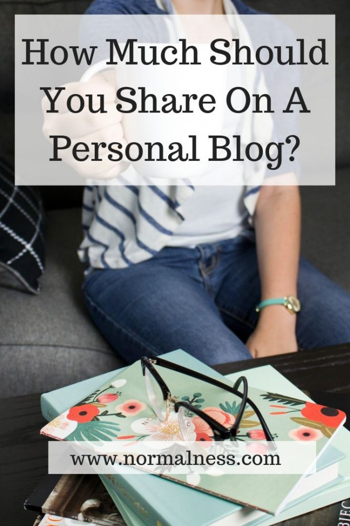 How Much Should You Share On A Personal Blog?