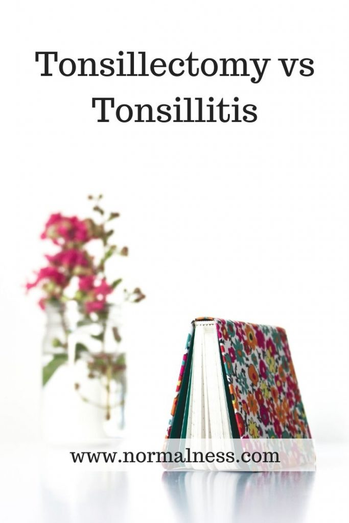 Tonsillectomy vs Tonsillitis