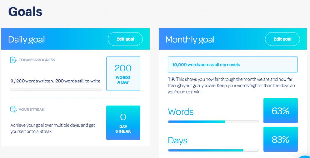 Novlr Goals