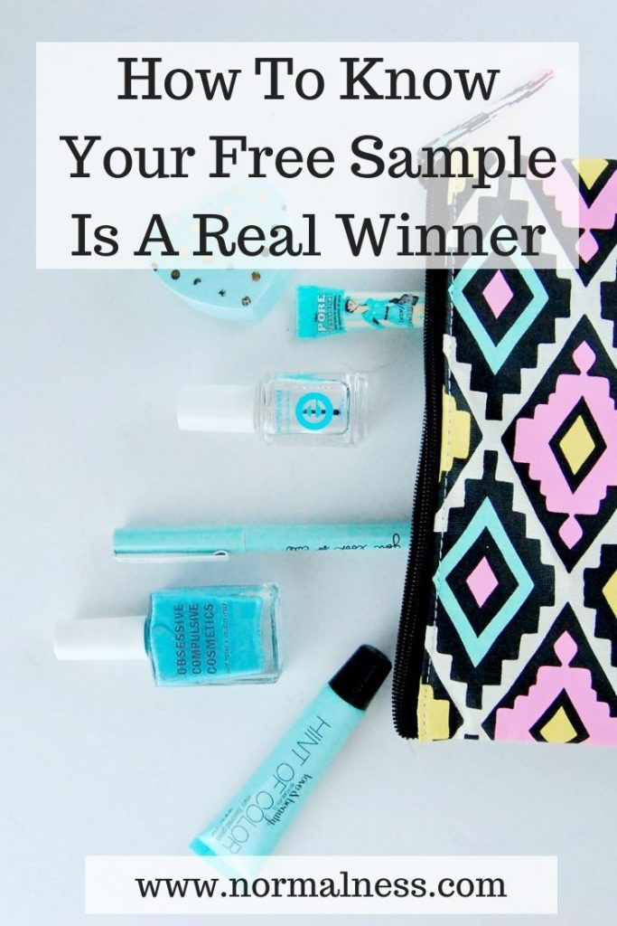 How To Know Your Free Sample Is A Real Winner