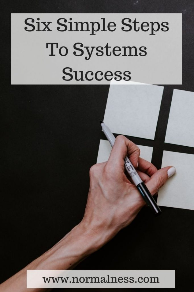 Six Simple Steps To Systems Success