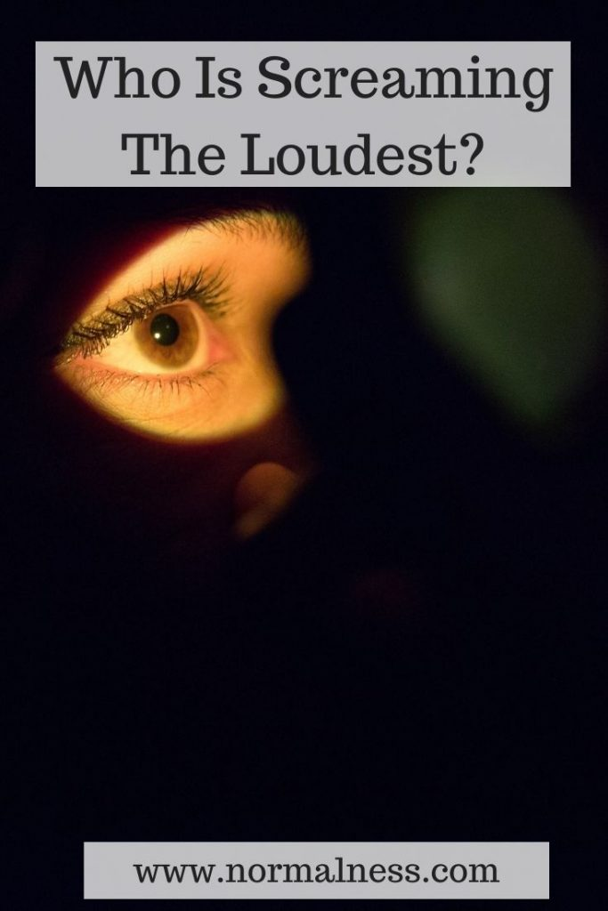 Who Is Screaming The Loudest?