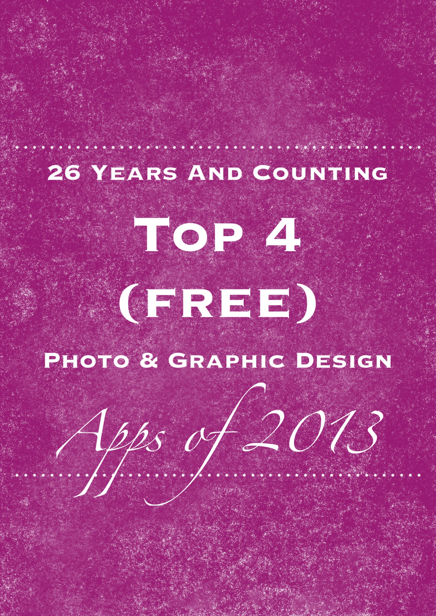 Top 4 Free Photo & Graphic Design Apps for iPhone