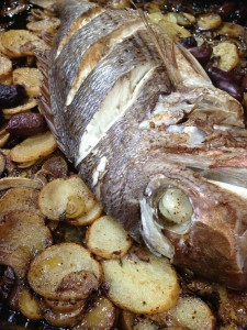26 Years and Counting: Good Food and Wine Show: Fish Out of Oven