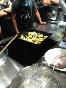 26 Years and Counting: Good Food and Wine Show - Potato Tip: Pre cook on stove top