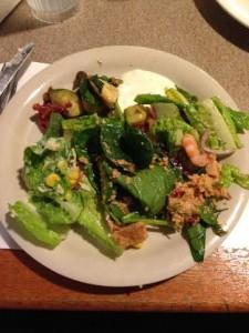 Sizzler leafy salads