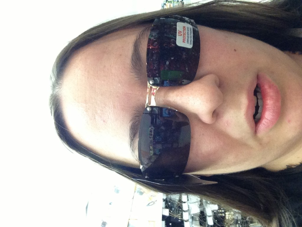 I actually don't know why this photo is sideways. But hey, maybe this will be a new trend.