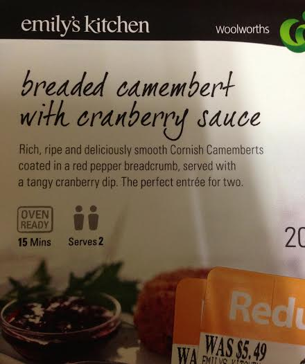 Breaded Camembert Package