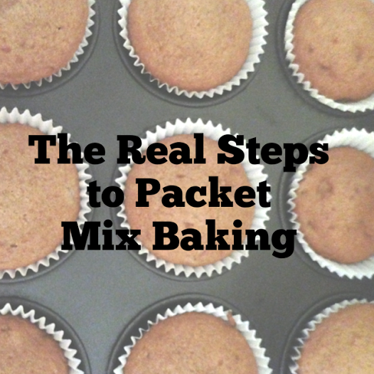 The Real Steps To Packet Mix Baking