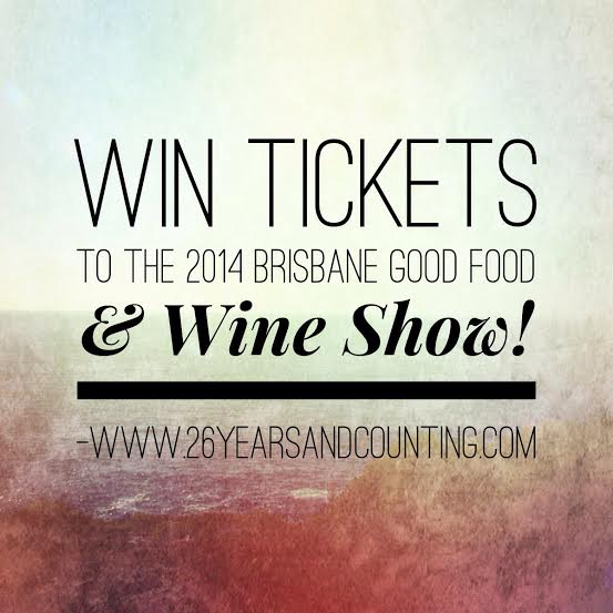 Win Brisbane Good Food Wine Show 2014