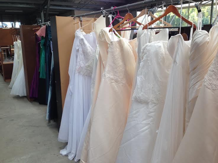 Wedding Dresses at Tip Shop