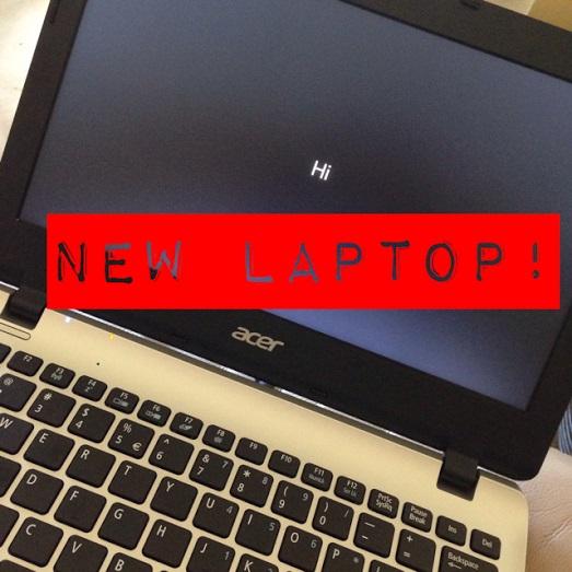 New Laptop!