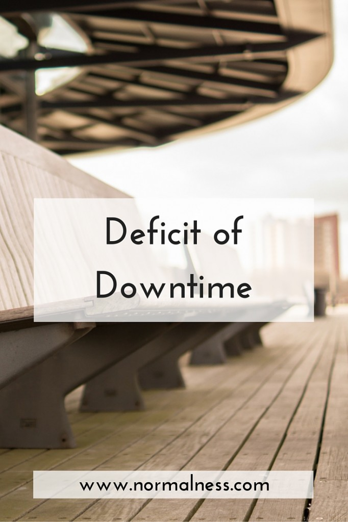Deficit of Downtime