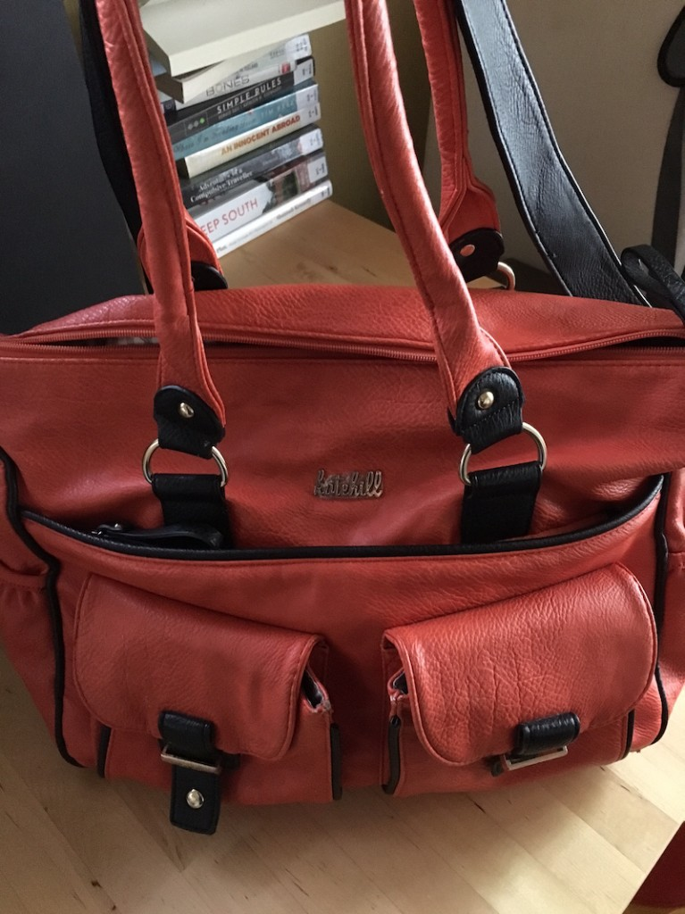 Kate Hill Overnight Bag Front